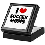 I love soccer moms Keepsake Box