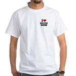 I love soccer moms White T-Shirt