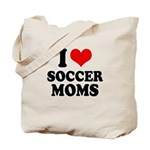 I love soccer moms Tote Bag