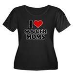 I love soccer moms Women's Plus Size Scoop Neck Da