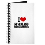 I love neverland slumber parties Journal