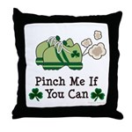St Patrick's Day Runner Throw Pillow