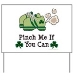 St Patrick's Day Runner Yard Sign