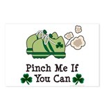 St Patrick's Day Runner Postcards (Package of 8)