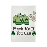 St Patrick's Day Runner Rectangle Magnet