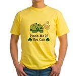 St Patrick's Day Runner Yellow T-Shirt