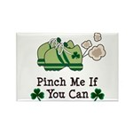 St Patrick's Day Runner Rectangle Magnet (10 pack)