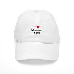I love mormon boys Cap