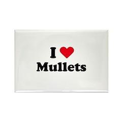 I love mullets Rectangle Magnet (10 pack)
