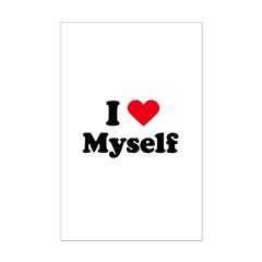 i love myself Mini Poster Print