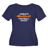World's Hottest Footb.. (A) Women's Plus Size Scoo