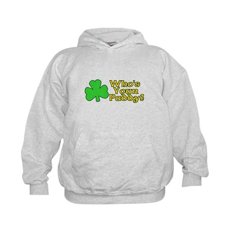 Who's Your Paddy? Kids Hoodie