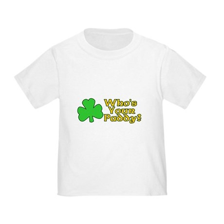 Who's Your Paddy? Toddler T-Shirt