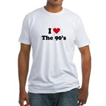 I love the 90s Fitted T-Shirt