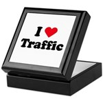 I love traffic Keepsake Box