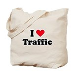 I love traffic Tote Bag
