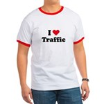 I love traffic Ringer T