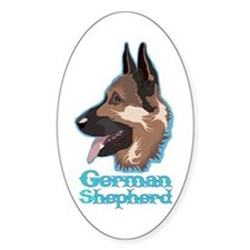 GSD Vector Oval Decal