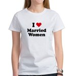 I love married women Women's T-Shirt