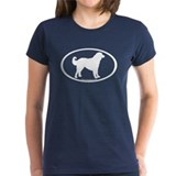 akbash dog oval Tee