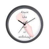 Ballet Slippers Wall Clock