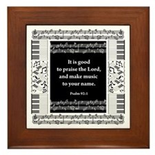 Music Framed Tile