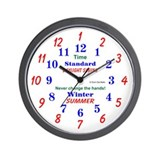 Daylight Savings Clock Wall Clock