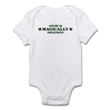 Angie is delicious Infant Bodysuit
