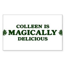 Colleen is delicious Rectangle Decal
