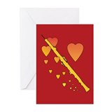 Oboe Heartsong Greeting Cards (Pk of 20)
