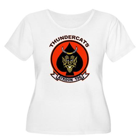 VA-196 Women's Plus Size Scoop Neck T-Shirt