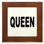 Queen Framed Tile