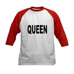 Queen (Front) Kids Baseball Jersey