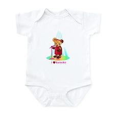 Singing Teddy Bear Infant Bodysuit