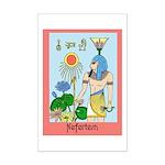 Nefertem Mini Poster Print