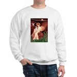 Seated Angel / Ital Greyhound Sweatshirt