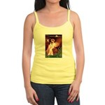 Seated Angel / Ital Greyhound Jr. Spaghetti Tank