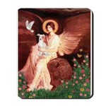 Seated Angel / Ital Greyhound Mousepad