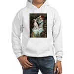 Ophelia / Italian Greyhound Hooded Sweatshirt