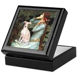 Ophelia / Italian Greyhound Keepsake Box