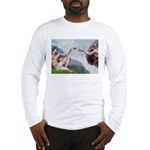 Creation / Ital Greyhound Long Sleeve T-Shirt