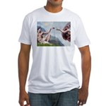 Creation / Ital Greyhound Fitted T-Shirt