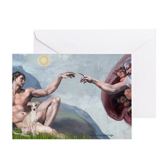 Creation / Ital Greyhound Greeting Card