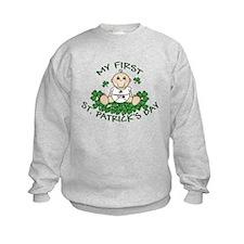 First St. Patrick's Boy Sweatshirt