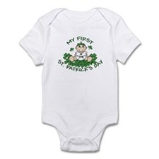 First St. Patrick's Girl Infant Bodysuit