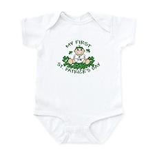 First St. Patrick's Girl Infant Bodysuit