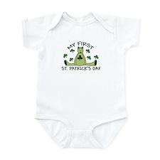 First St. Patrick's Day Bear Infant Bodysuit