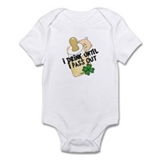 Funny Baby St. Patricks Infant Bodysuit