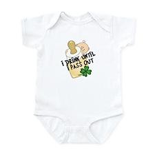 Funny Baby St. Patricks Infant Bodysuit