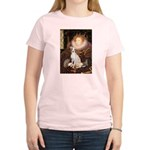 Queen / Italian Greyhound Women's Light T-Shirt